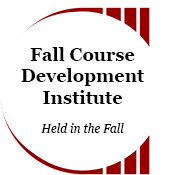 Fall CDI, held in Fall with Face to Face and Online activities